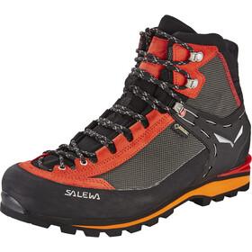 SALEWA Crow GTX Chaussures Homme, noir/rouge